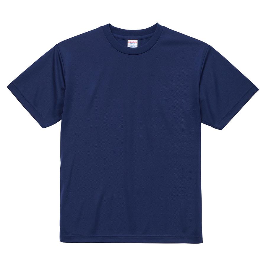 4.1oz ドライアスレチックTシャツ <アダルト> 5900−01 087 インディゴ