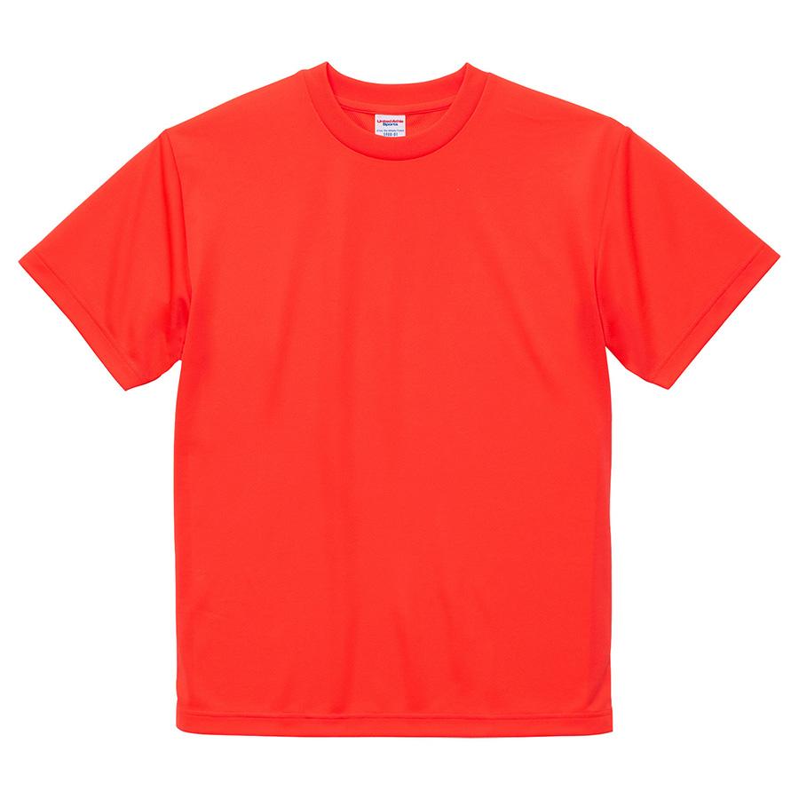 4.1oz ドライアスレチックTシャツ <アダルト> 5900−01 113 蛍光オレンジ