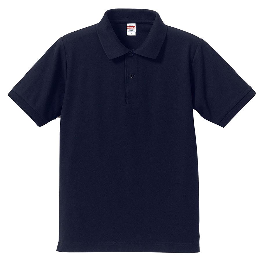 5.3oz ドライカノコ ユーティリティーポロシャツ 5050−01 086 ネイビー