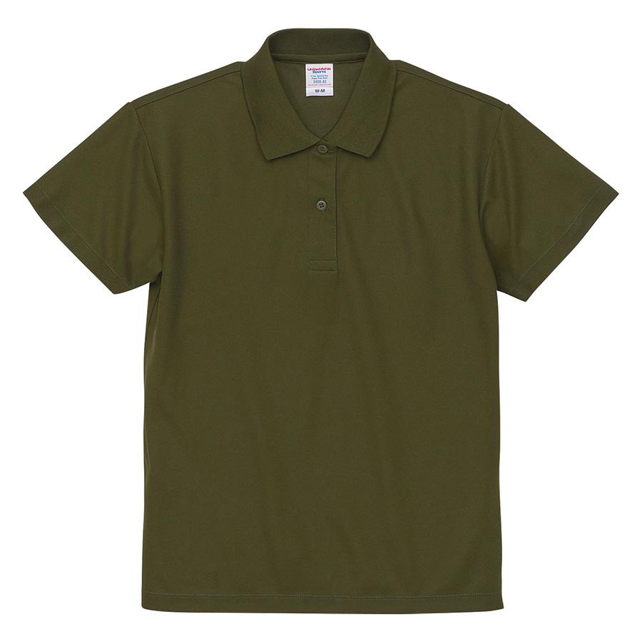 4.7oz スペシャル ドライ カノコ ポロシャツ(ローブリード)<ウィメンズ>2020−03 035 シティグリーン
