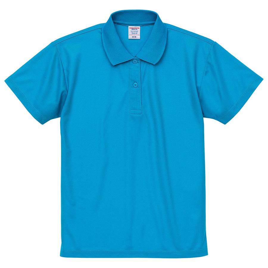 4.7oz スペシャル ドライ カノコポロシャツ(ローブリード)<ウィメンズ>2020−03 538 ターコイズブルー