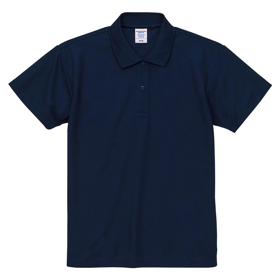 4.7oz スペシャル ドライ カノコ ポロシャツ(ローブリード)<ウィメンズ> 2020−03 087 インディゴ