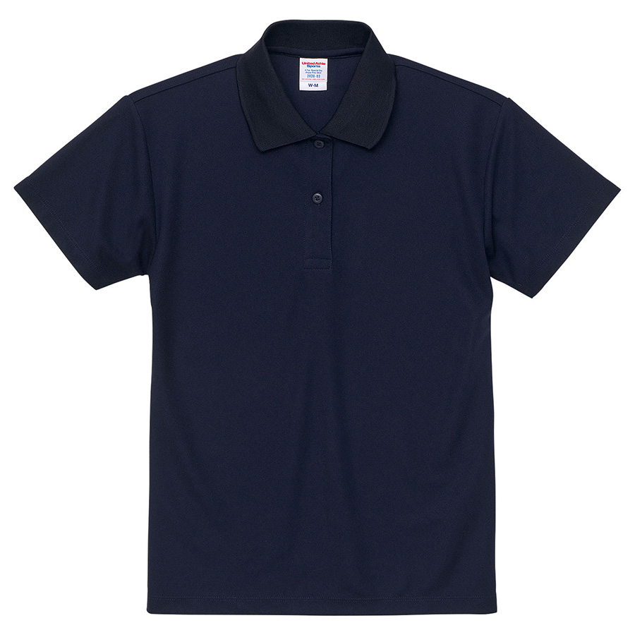 4.7oz スペシャル ドライ カノコ ポロシャツ(ローブリード)<ウィメンズ> 2020−03 086 ネイビー