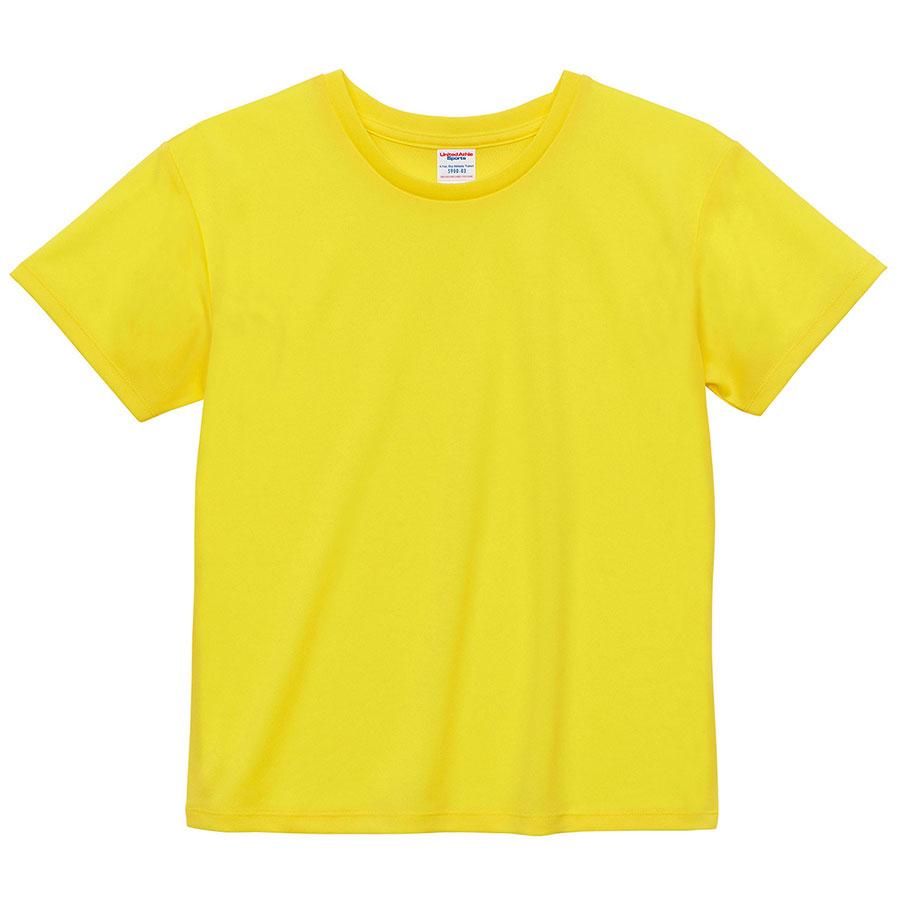 4.1oz ドライアスレチックTシャツ <ウィメンズ> 5900−03 021 イエロー