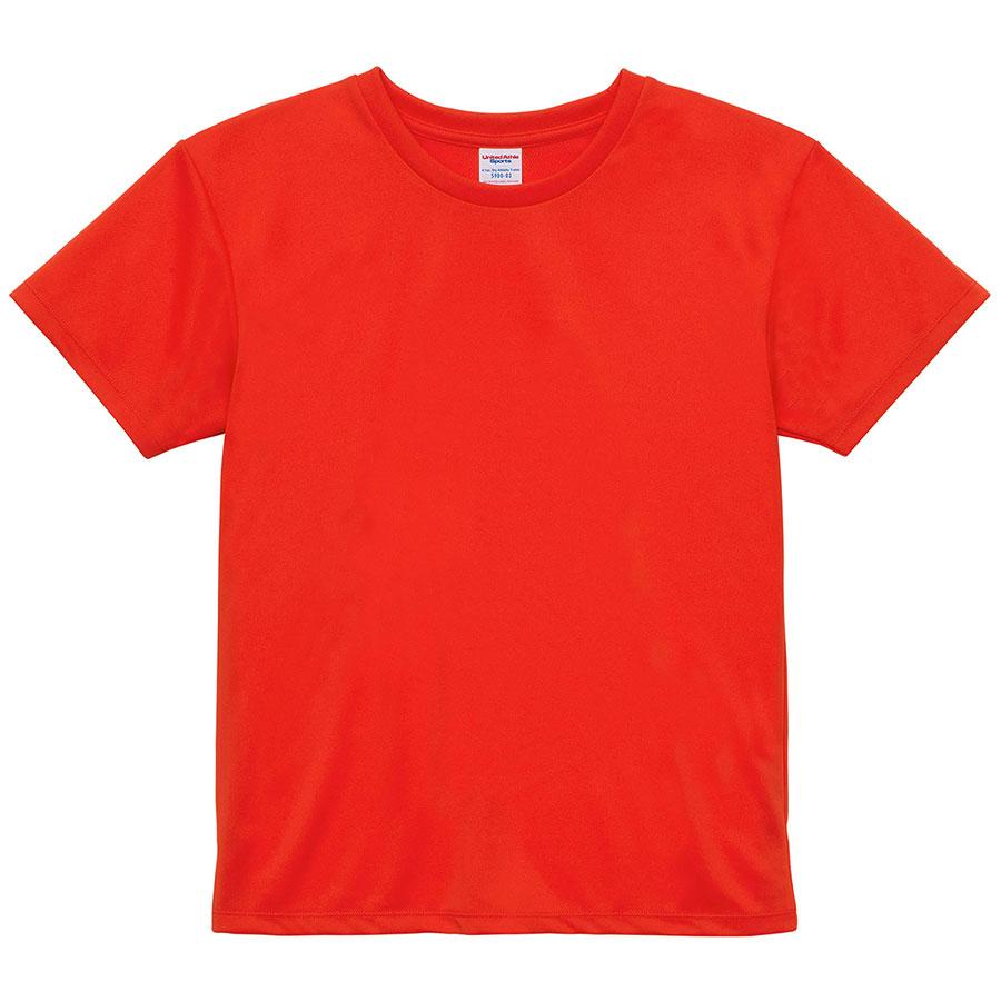 4.1oz ドライアスレチックTシャツ <ウィメンズ> 5900−03 498 カリフォルニアオレンジ