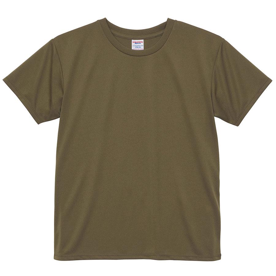4.1oz ドライアスレチックTシャツ <ウィメンズ> 5900−03 033 オリーブ