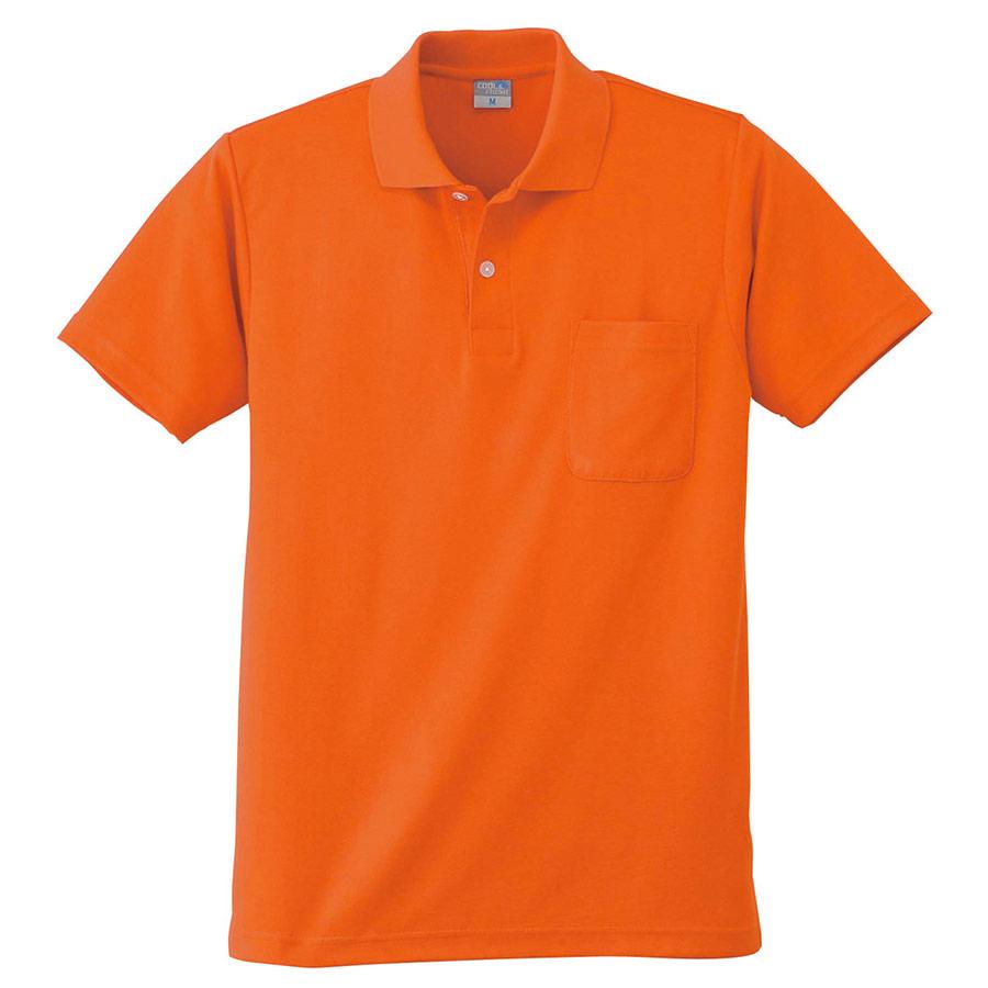 DRY 半袖ポロシャツ 9006 12 オレンジ 6L
