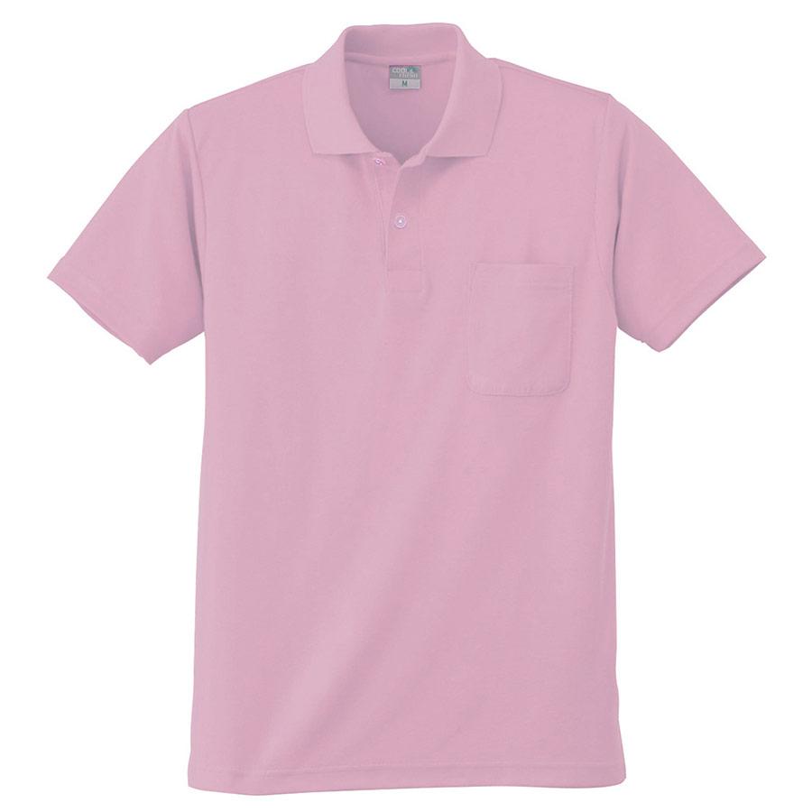 DRY 半袖ポロシャツ 9006 13 ピンク 3S〜5L