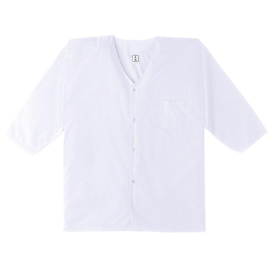 鳶ウエア ダボシャツ 4621−90 ホワイト