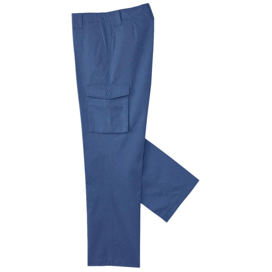ワークウエア カーゴズボン 620R−5 ブルー