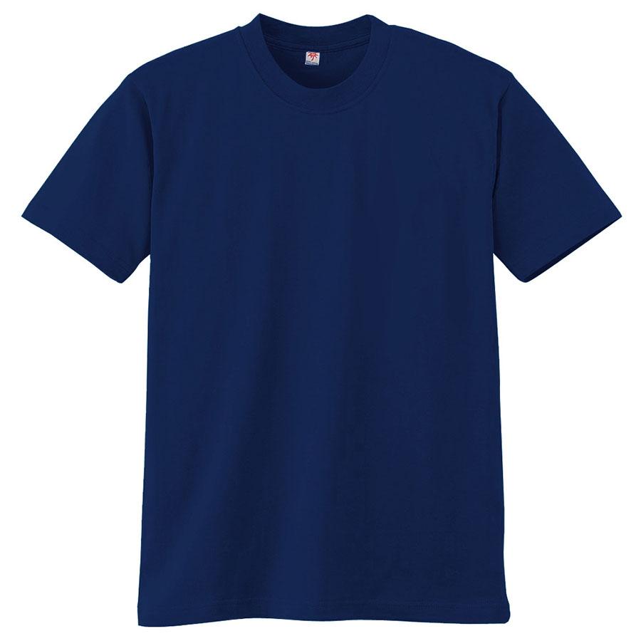 半袖Tシャツ (胸ポケット無) K3021 1 ネービー