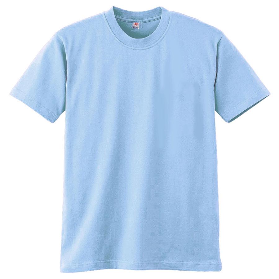 半袖Tシャツ (胸ポケット無) K3021 6 サックス