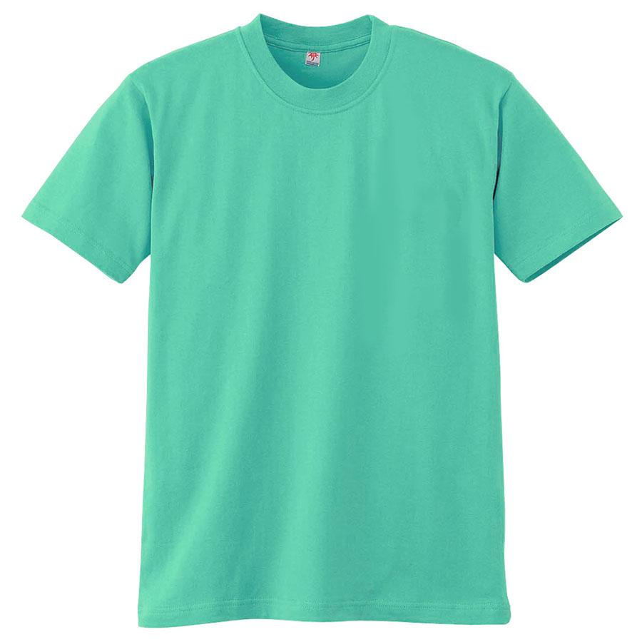半袖Tシャツ (胸ポケット無) K3021 35 エメグリーン