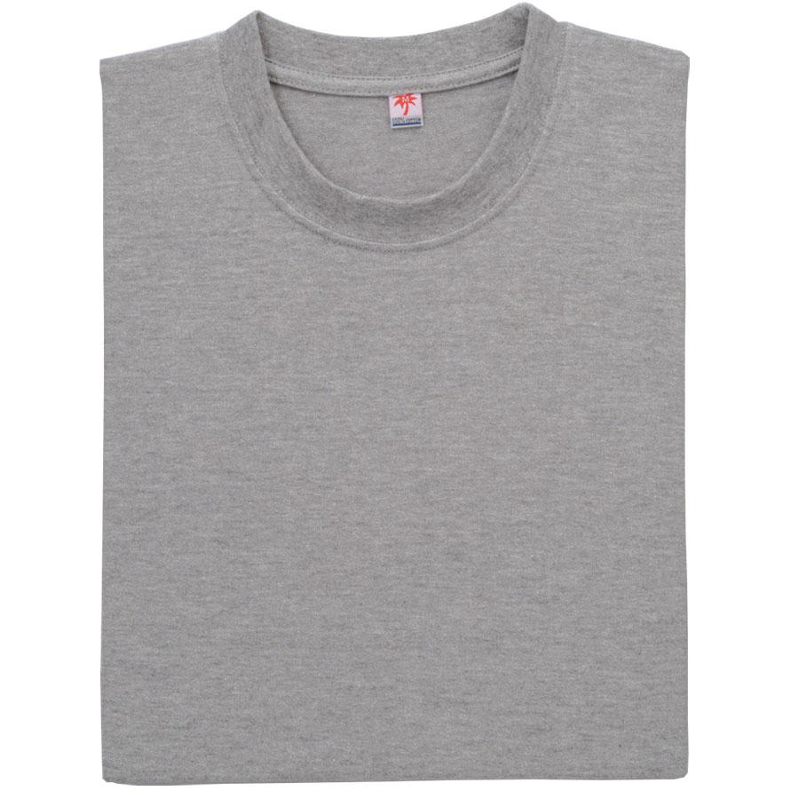 半袖Tシャツ (胸ポケット無) K3021 43 杢グレー