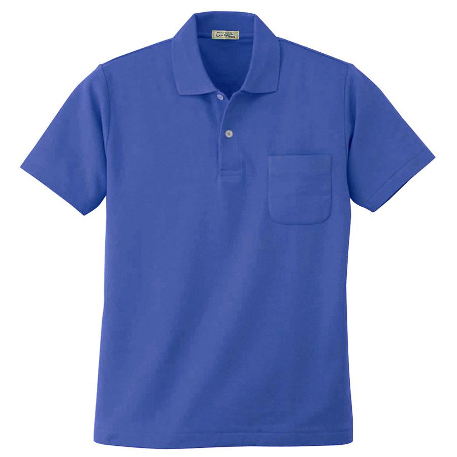 半袖ポロシャツ 4411 8 Rブルー