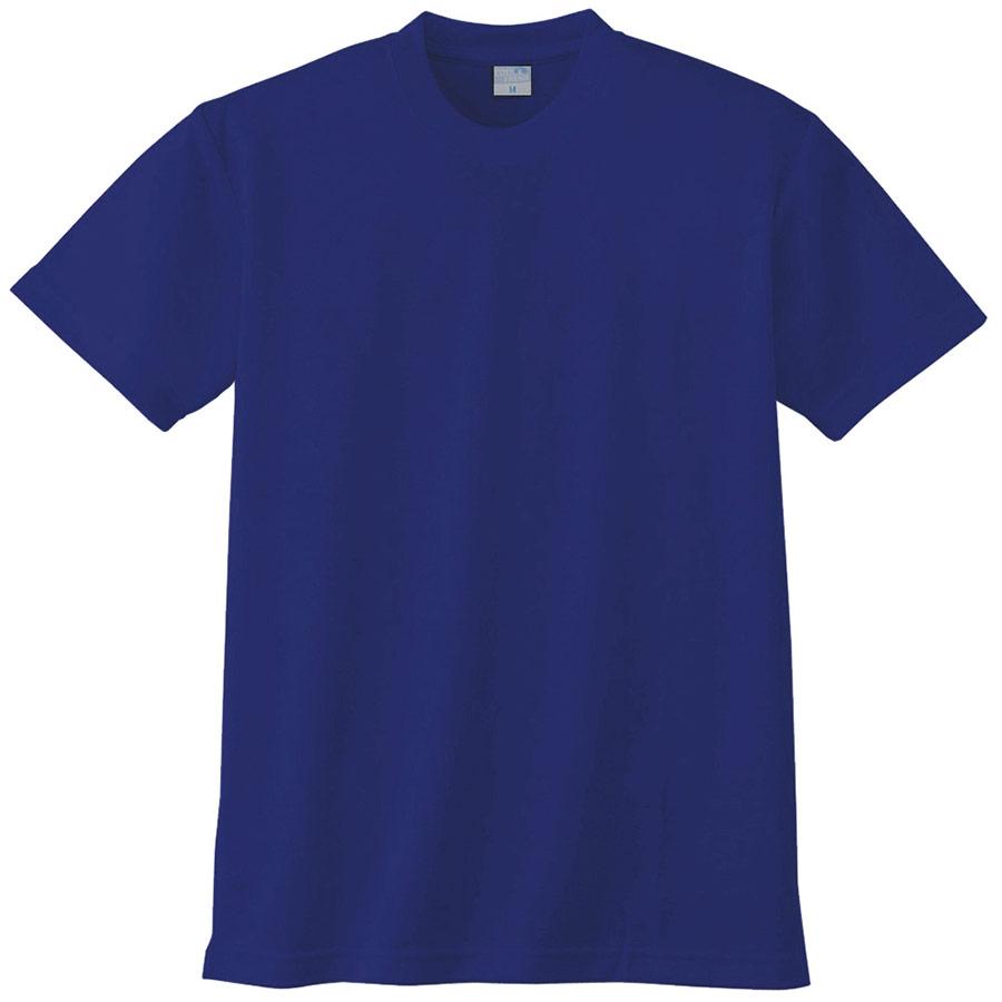 半袖Tシャツ (胸ポケット無) K9008 8 Rブルー 3S〜5L