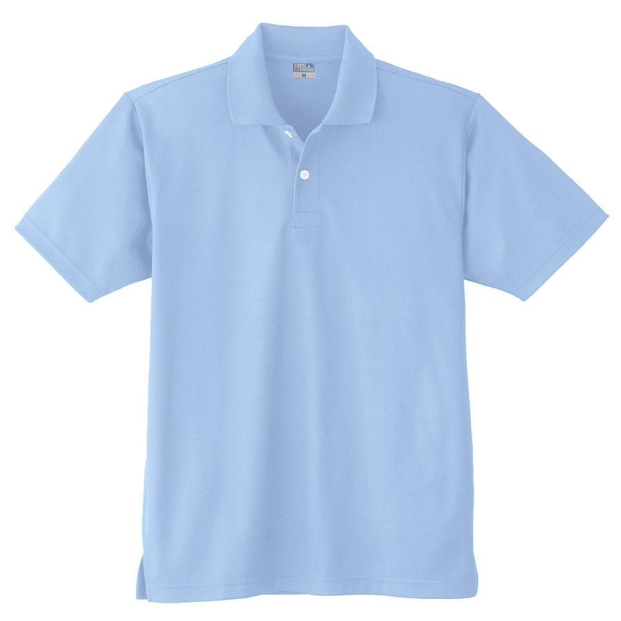 DRY 半袖ポロシャツ (ポケットなし) 9010 6 サックス