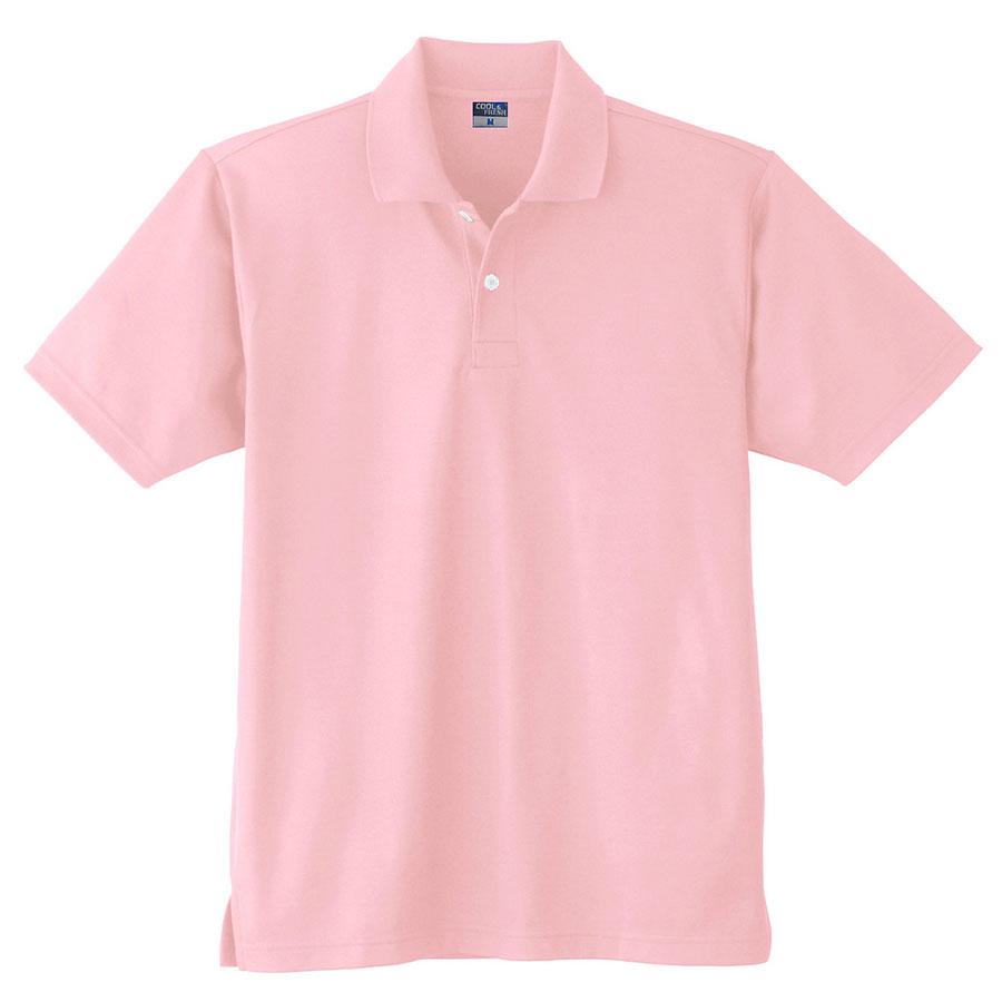 DRY 半袖ポロシャツ (ポケットなし) 9010 13 ピンク