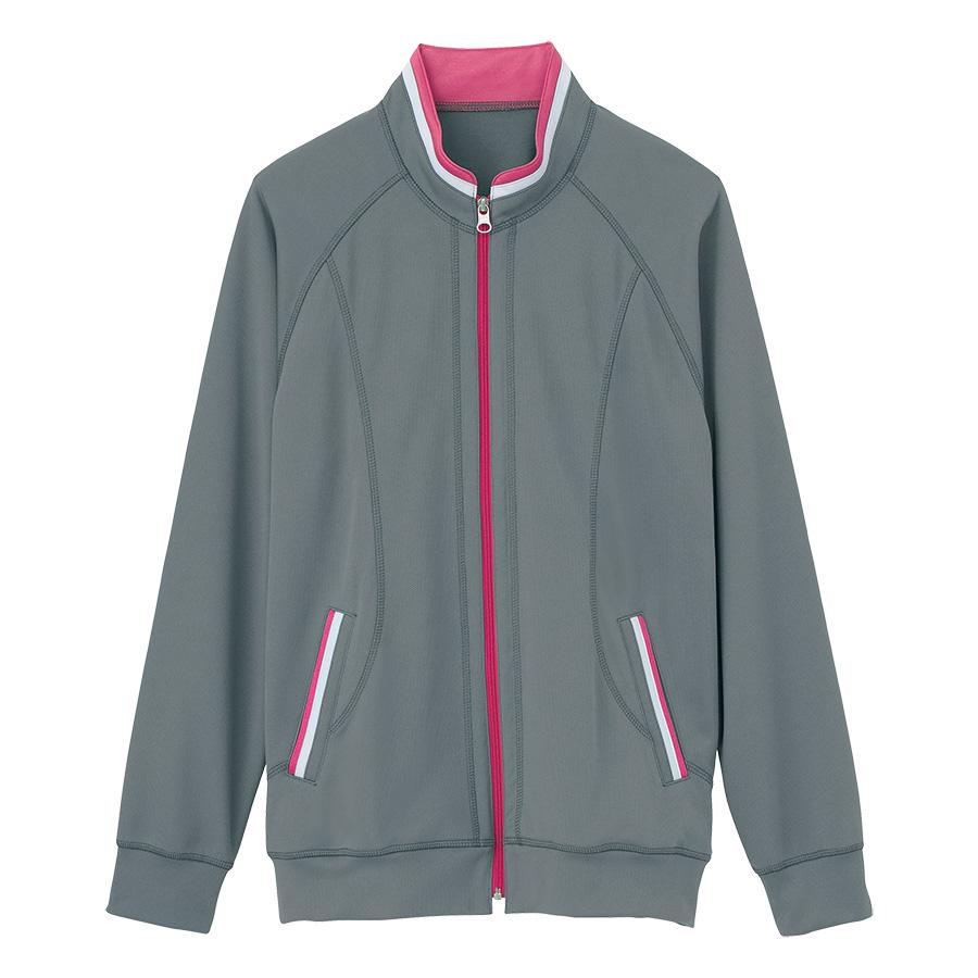 男女共用 ニットジャケット HM−2217 5 ミネラルグレー SS〜3L