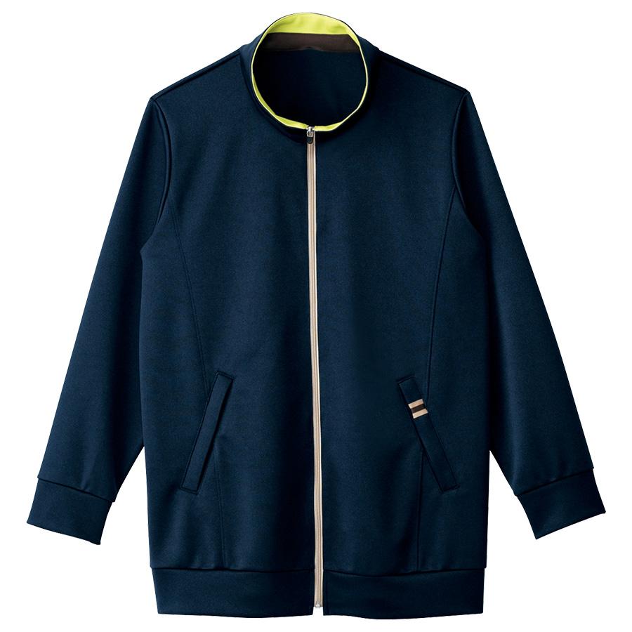 男女共用 ニットジャケット HM−2501 2 夜風 (SS〜3L)