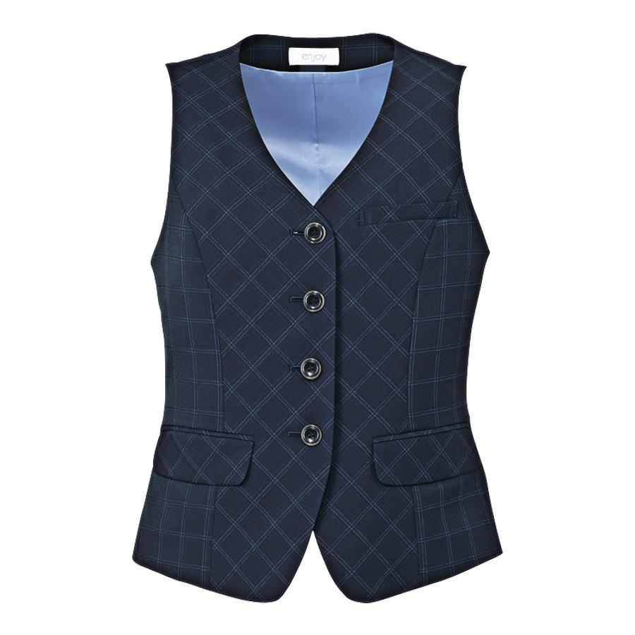 Airswing Suits ベスト EAV−649 2 ブリリアントネイビー