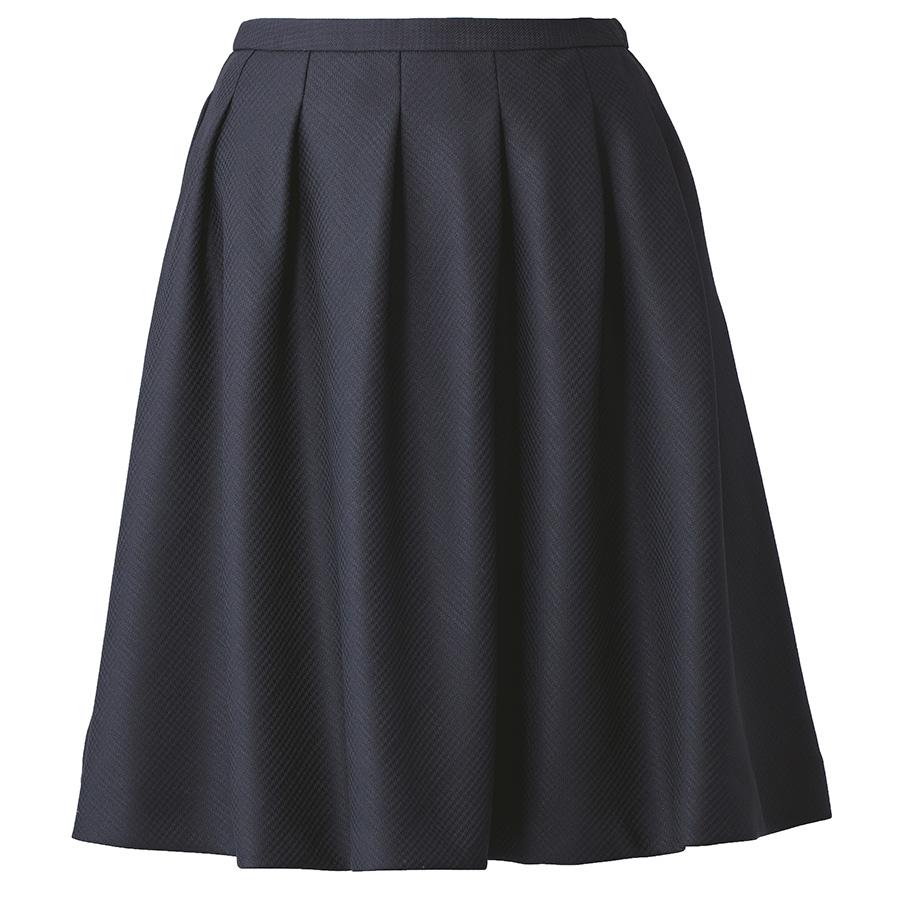 Airswing Piece フレアスカート EAS−529 10 ブラックブラック