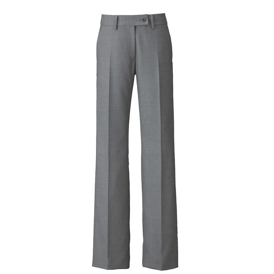 美スラッと(R) Suits2 フレアストレートパンツ EAL−585 5 グレー