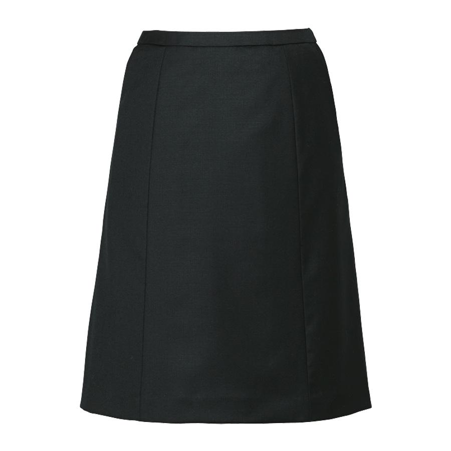 ノンストレスシリーズ Aラインスカート EAS−651 10 ブラック