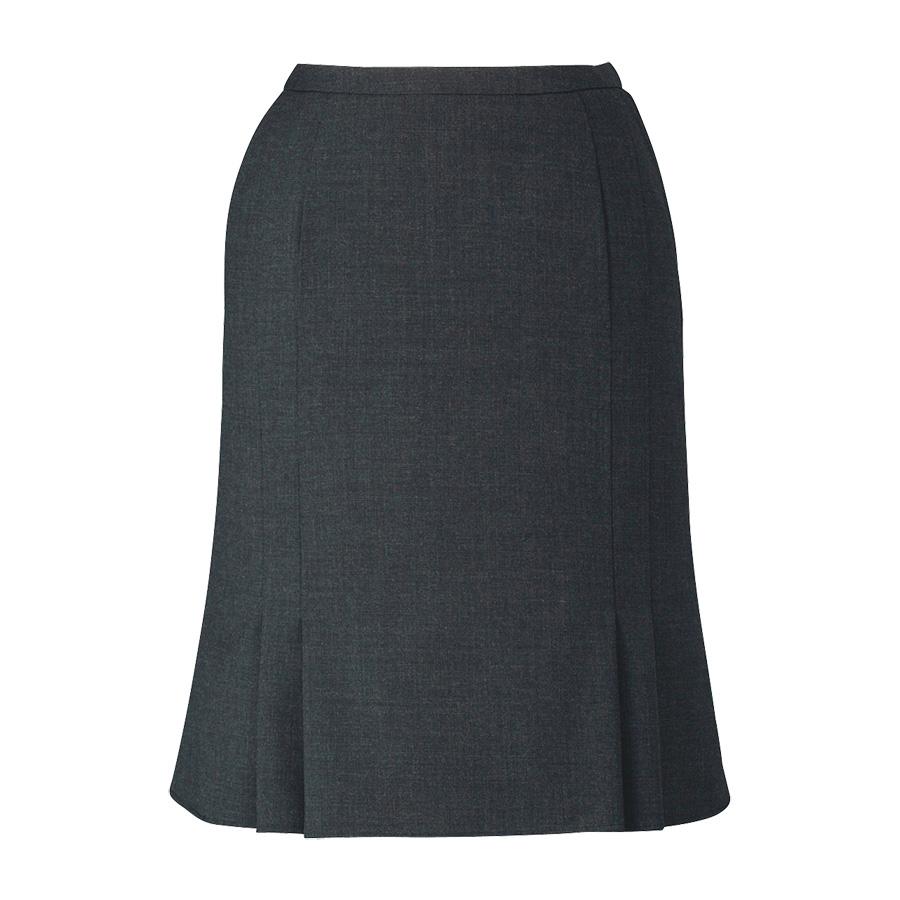 ノンストレスシリーズ マーメイドラインスカート EAS−654 5 チャコール (5〜21号)