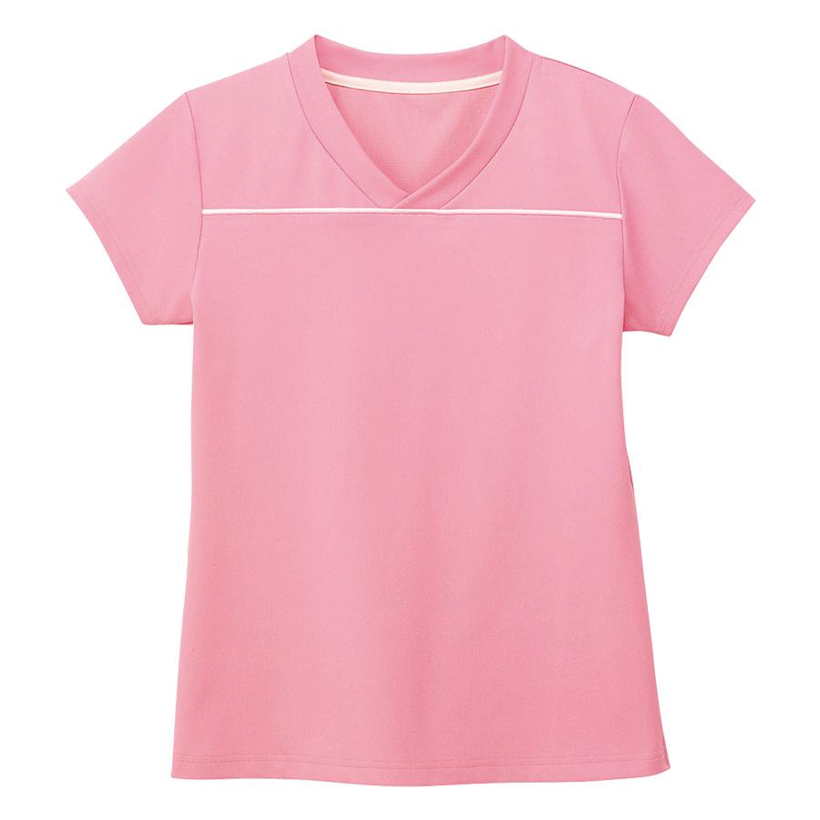 男女共用 VネックTシャツ HM−1589 9 ストロベリーピンク SS〜3L