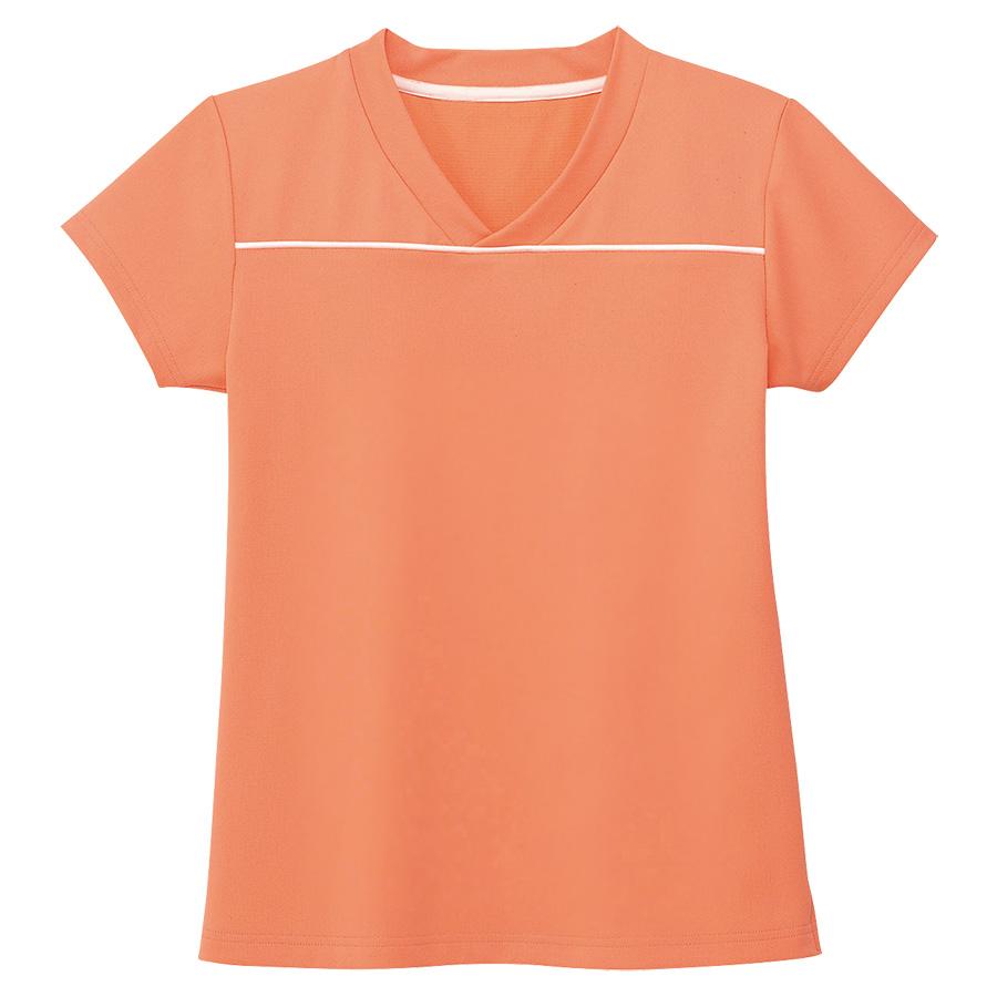 男女共用 VネックTシャツ HM−1589 14 マンゴーオレンジ SS〜3L