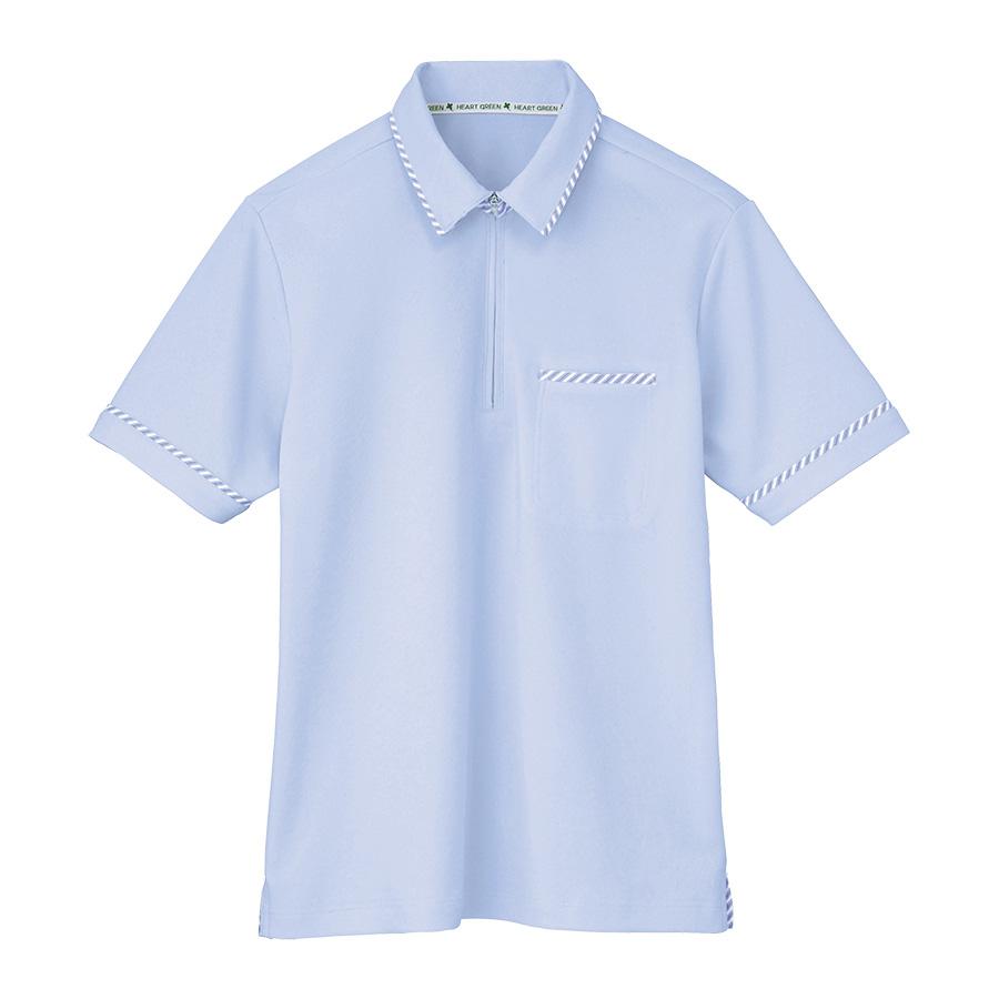男女共用 半袖プルオーバー HM−2329 6 アクアブルー SS〜3L