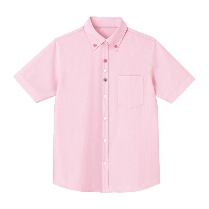 男女共用 半袖ニットシャツ HM−2419 9 さくら SS〜3L