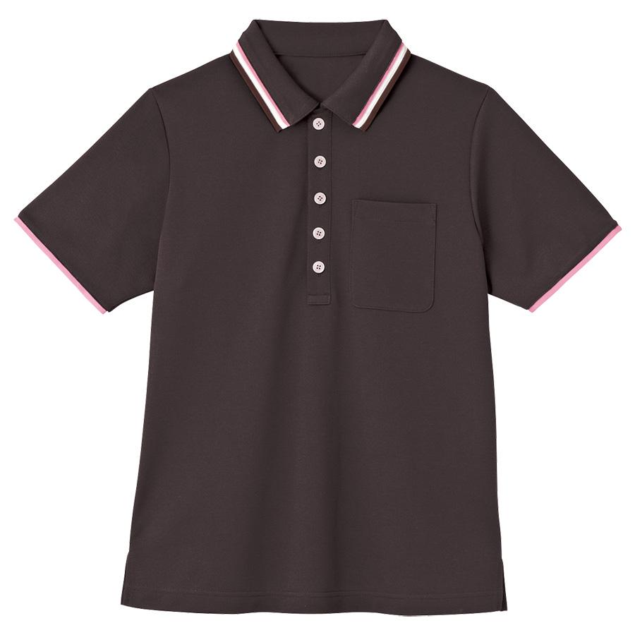 男女共用 半袖ポロシャツ HM−2439 3 大地 SS〜3L