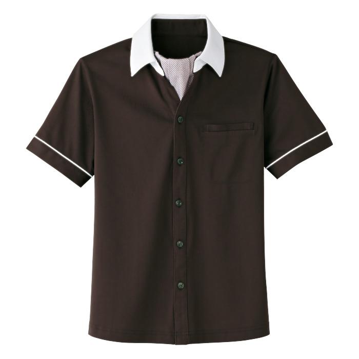 男女共用 半袖ニットシャツ HM−2619 3 大地 (SS〜3L)