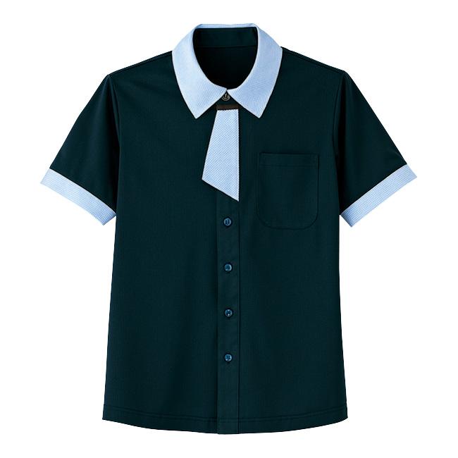 男女共用 半袖ニットシャツ HM−2629 2 夜空 (4L・5L)