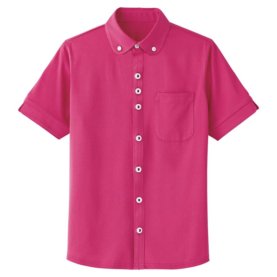男女共用 半袖ニットシャツ HM−2649 9 バラ園 (4L・5L)