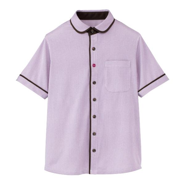 男女共用 半袖ニットシャツ HM−2659 7 ぶどう畑 (4L・5L)