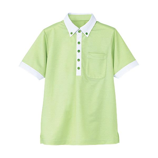 男女共用 半袖ポロシャツ HM−2679 4 草原 (4L・5L)