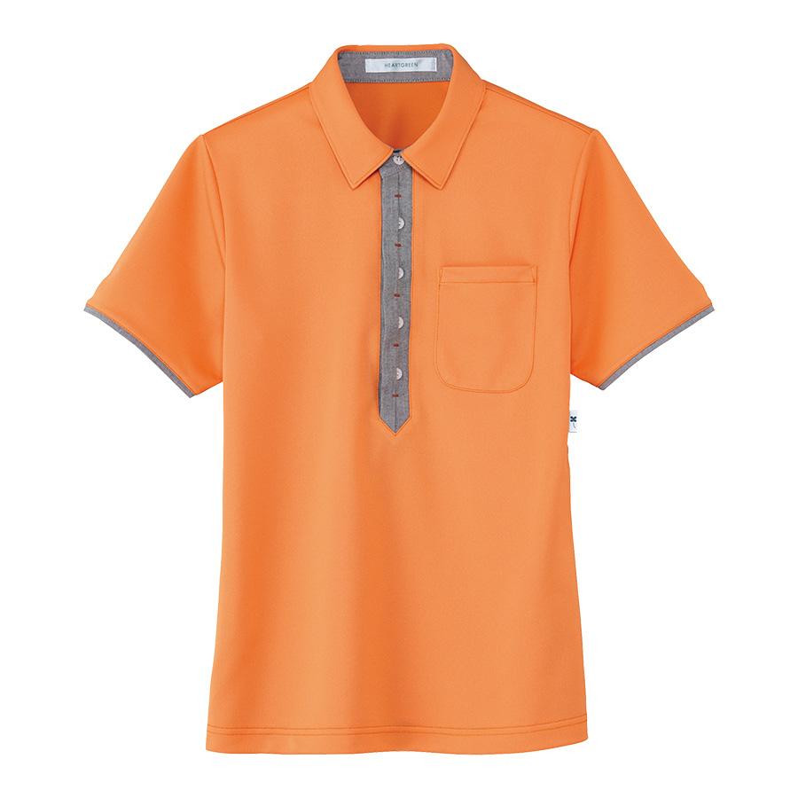男女共用 半袖ポロシャツ HM−2819 14 陽だまり SS〜3L