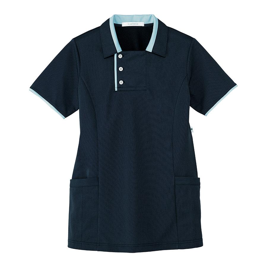 男女共用 半袖ロングポロシャツ HM−2829 2 夜空 SS〜3L