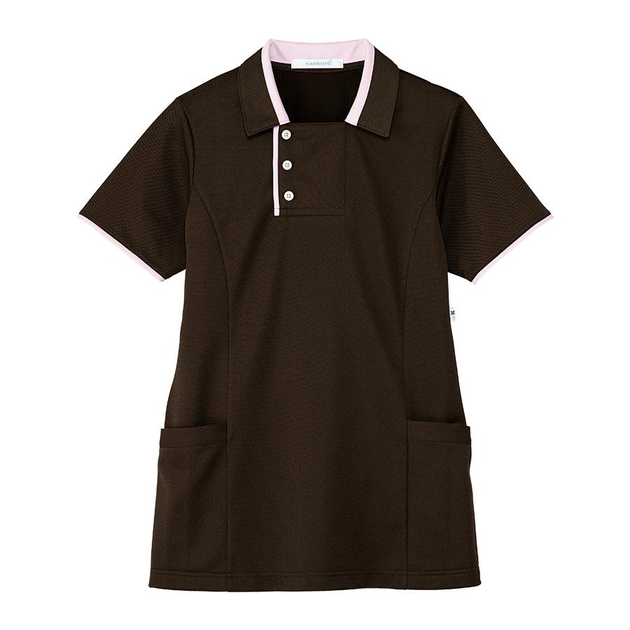 男女共用 半袖ロングポロシャツ HM−2829 3 大地 SS〜3L