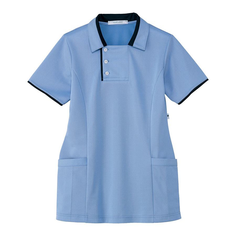 男女共用 半袖ロングポロシャツ HM−2829 6 空 4L・5L