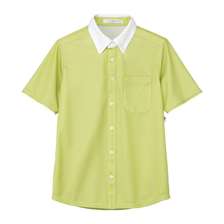 男女共用 半袖ニットシャツ HM−2839 4 草原 4L・5L