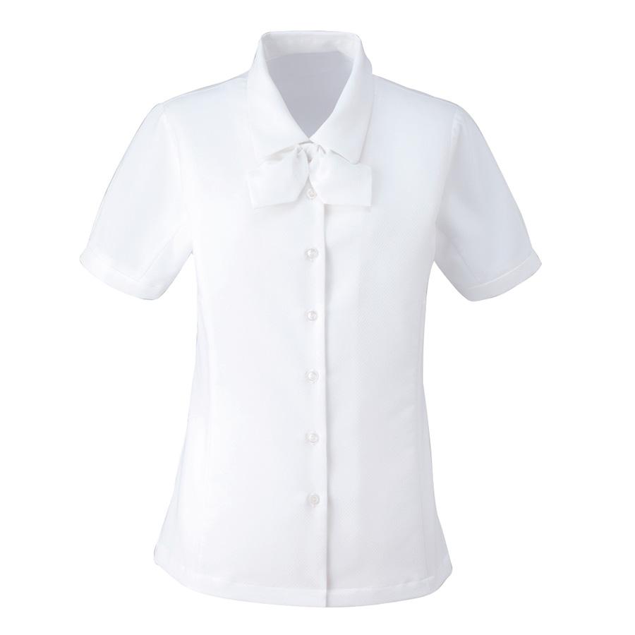 ブラウス (半袖) ESB−406 11 ホワイト