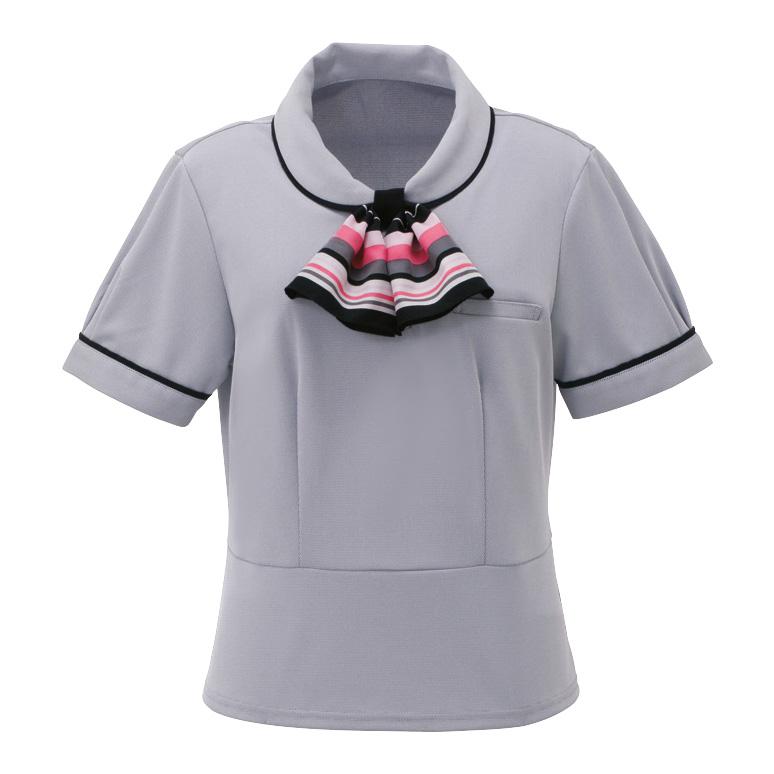ポロシャツ (スカーフつき) ESP−452 9 ピンク
