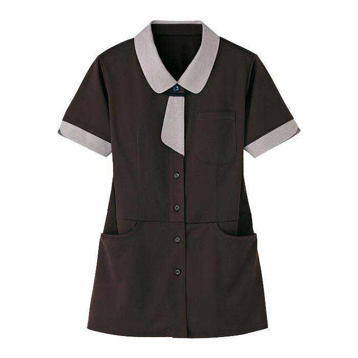 レディース 半袖ロングニットシャツ HL−2639 3 大地