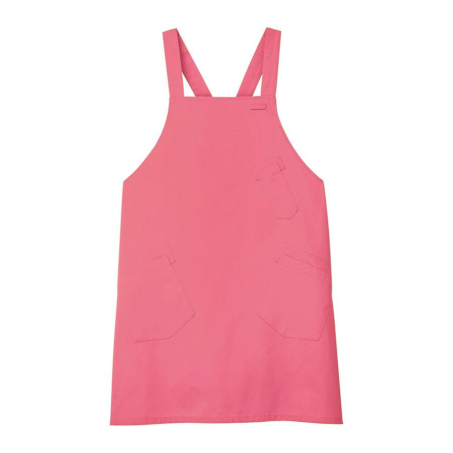 男女共用 エプロン CAE−057 9 ピンク