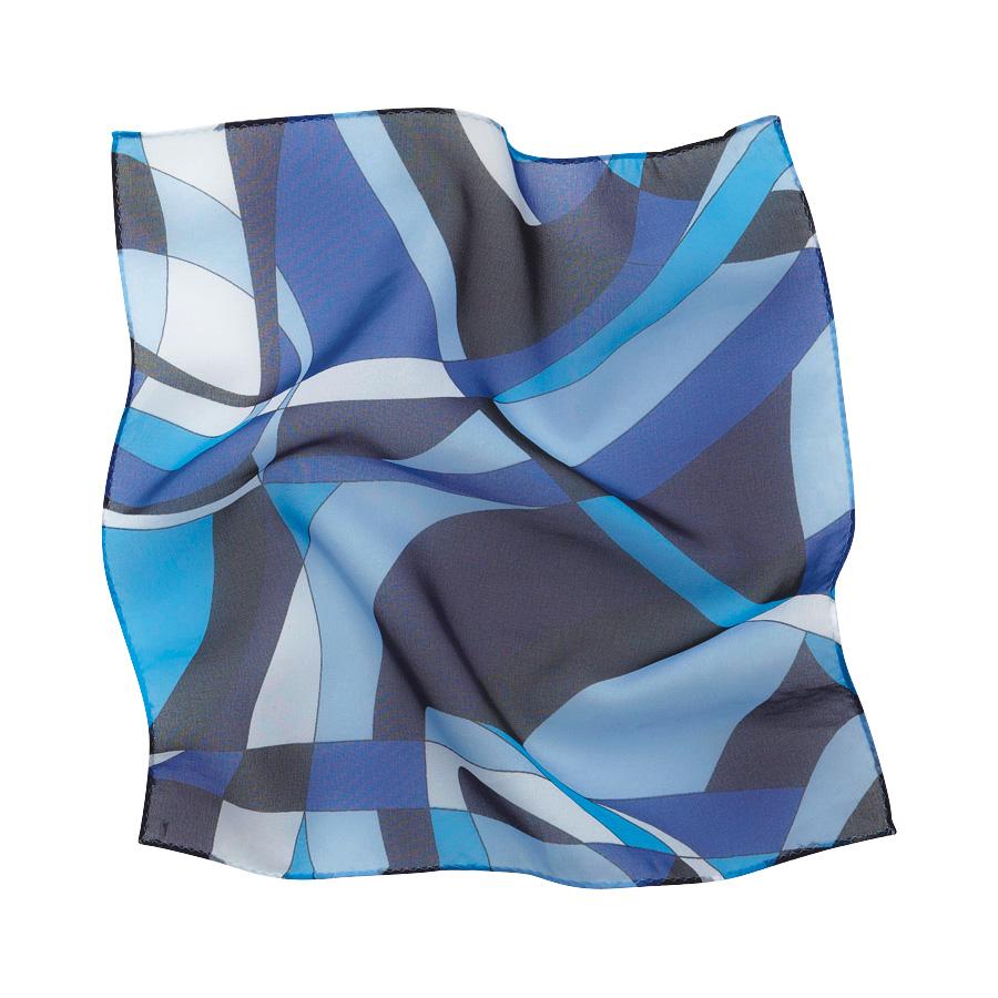 ミニスカーフ EAZ−467 6 ブルー