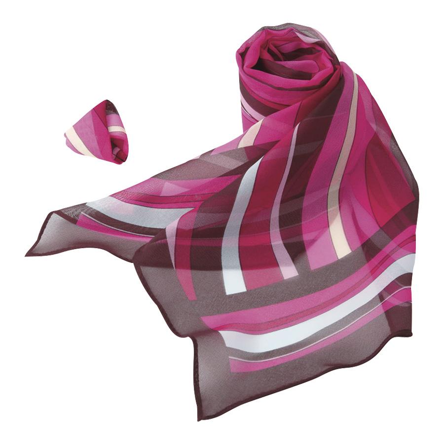 ロングスカーフ EAZ−601 9 ピンク